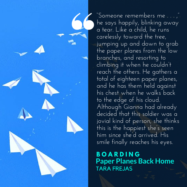 paper planes back home quote boarding