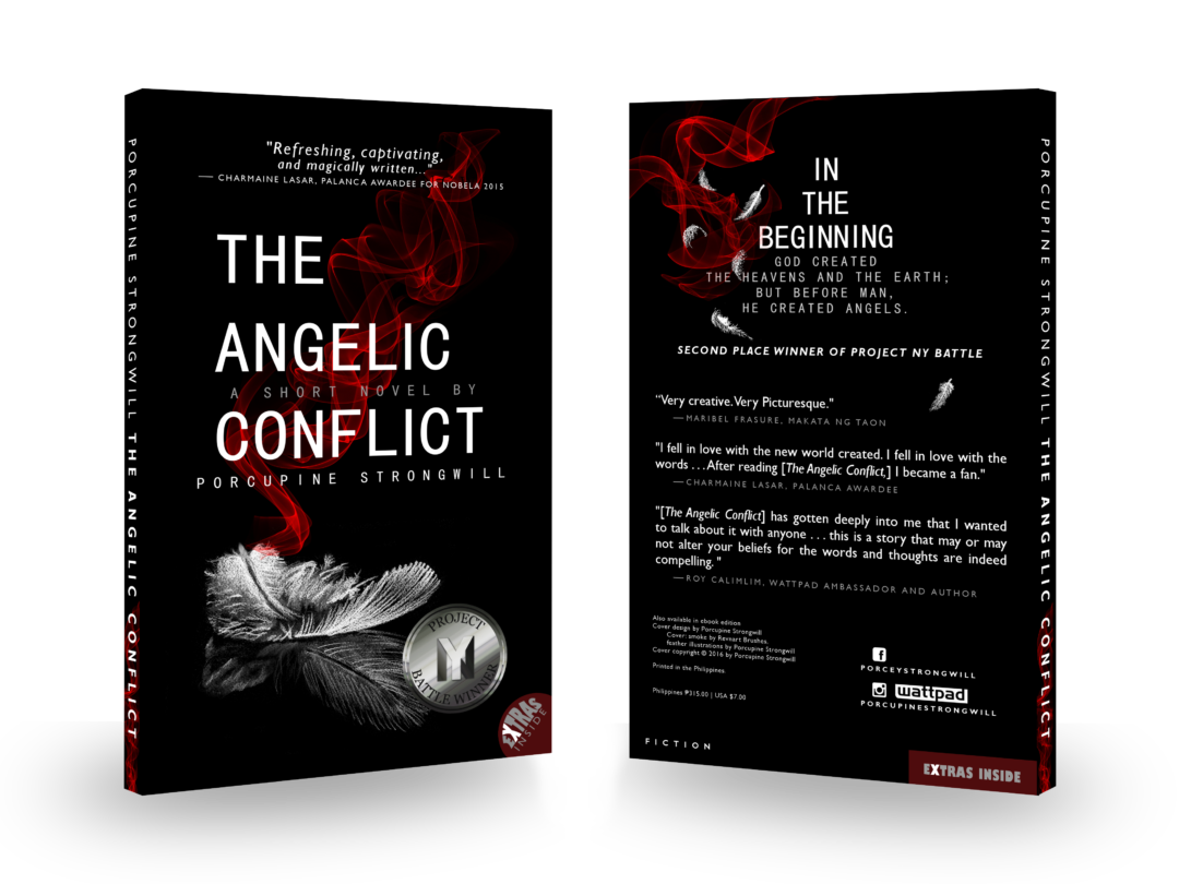 the angelic conflict cover black