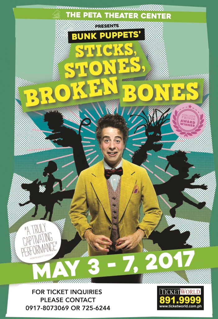 Sticks, Stones, Broken Bones Poster1